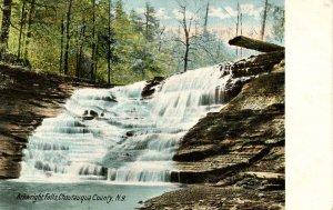 NY - Chautauqua County. Arkwright Falls