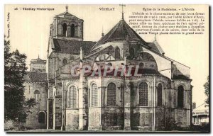 Old Postcard Vezelay Facade of the Church of the Madeleine The Apse