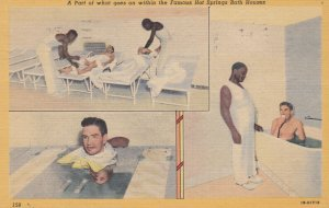 Black Americana , 1930-40s ; Hot Springs , Arkansas , Worker in Spa