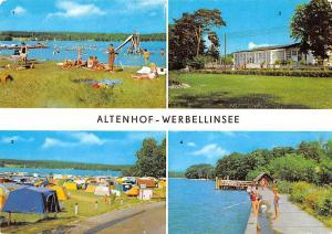 Altenhof Werbellinsee Campingplatz Suesser Winkel Am Werbellinsee