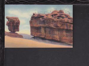 Balanced,Steamboat Rocks,Pike's Peak,CO Postcard