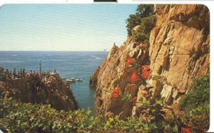 Mexico, La Quebrada en Acapulco, beauty spot in Acapulco