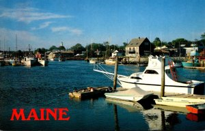 Maine Kennebunkport Mouth Of The Kennebunk River