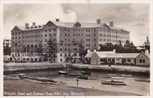 Bermuda Princess Hotel and Cottages from Pitt's Bay Real Photo