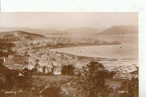 Scotland Postcard - Gourock - Real Photograph - Ref 15783A