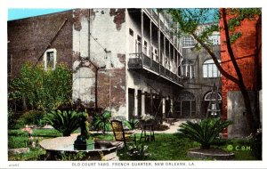 Louisiana New Orleans French Quarter Old Court Yard