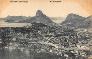 Brazil Rio de Janeiro panorama de Botafogo General view Postcard