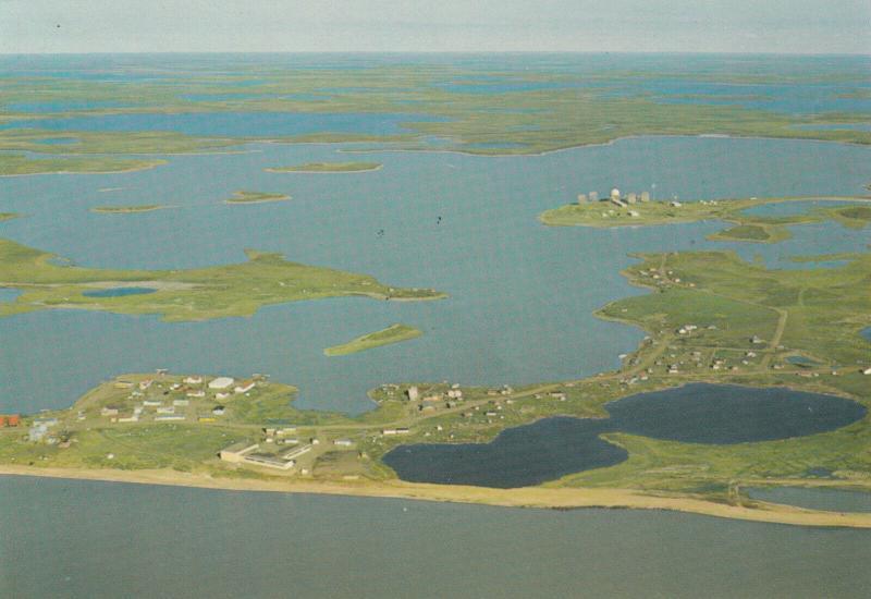 TUKTOYAKTUK , N.W.T. , Canada , 1979 ; Aerial View
