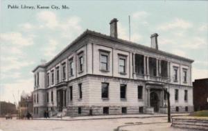 Public Library Kansas City Missouri Curteich