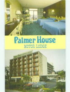 Unused Pre-1980 PALMER HOUSE MOTOR LODGE MOTEL Sarasota Florida FL hr6291-22