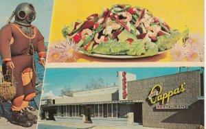 TARPON SPRINGS , Florida , 1950s-60s ; Louis Pappas' Riverside Restaurant
