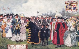 OXFORD Pageant , England , 1907 ; George III Visit ; TUCK
