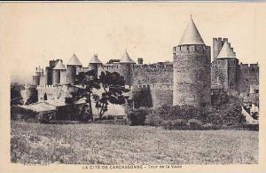 RP: LA CITE DE CARCASSONNE, Tour de la Vade, Aude, France, 10-20s