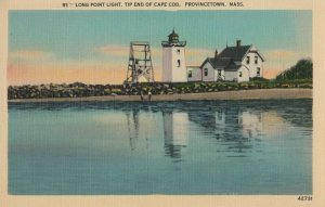 PROVINCETOWN , Massachusetts, 1930-40s ; Long Point Lighthouse
