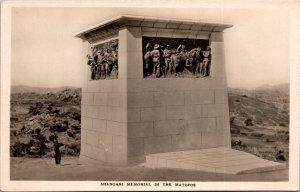 Shangani Memorial Matopos Zimbabwe RPPC Postcard unused 1920s