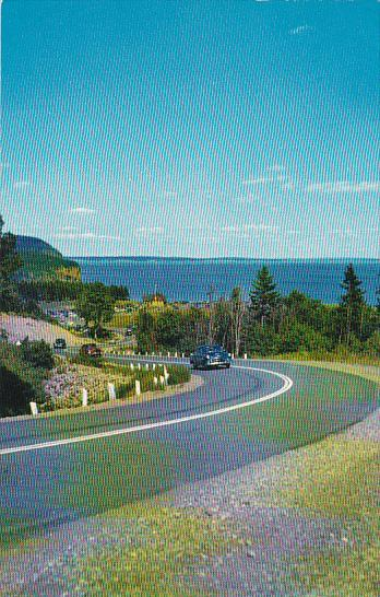 Canada New Brunswick Fundy National Park Road Scene In New Brunswicks Fundy N...