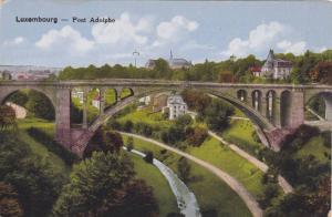 Pont Adolphe, Bridge, Luxembourg, 1900-1910s