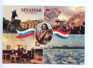 200626 RUSSIA ADVERTISING Senatbar in St.Petersburg