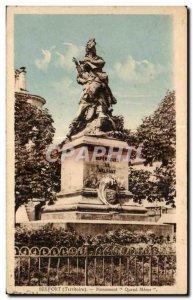 Old Postcard Belfort (Territory) Monument When Meme