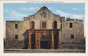The Alamo, Built 1718, SAN ANTONIO, Texas, 30-40s