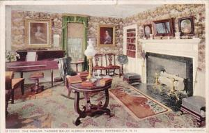 The Parlor Thomas Bailey Aldrich Memorial Porthsmouth New Hampshire 1928