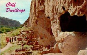 New Mexico, Santa Fe - Cliff Dwellings - [NM-048]