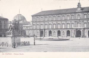 Monument in Palazzo Reale, Napoli, Campania, Italy 1900-10s