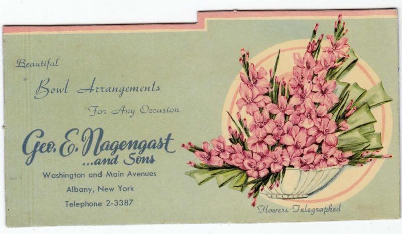 Geo E. Nagengast & Sons Flowers, Albany NY