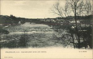 Franklin NH Pemigewasset River c1905 TUCK Postcard EXC COND