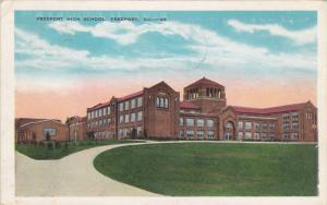 Freeport High School, Freeport, Illinois, PU-1942