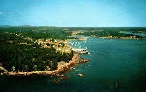 Maine Friendship Aerial View