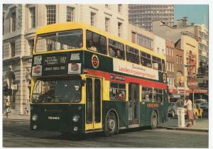 DM Fleetline Bus In Colours Of Shillibeer's 1829 Ominbus for 150th Anniv. PPC
