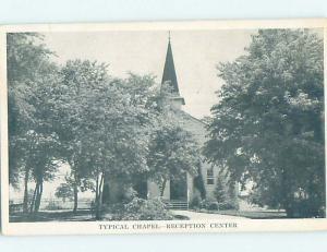 1940's CHURCH SCENE Typical Church Chapel AD0671