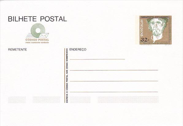Portugal Bilhete Postal