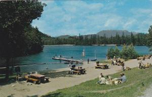 Alice Lake, Offers A Perfect Spot For Picnics And Relaxation, Garibaldi, Br...