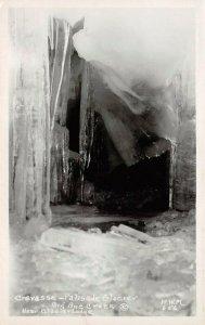 LP38 Palisade Glacier John Muir Wilderness  California Postcard RPPC