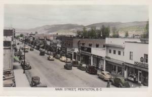 RP; PENTICTON, British Columbia, Canada; 1930s; Main Street