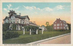 SUNBURY, Pennsylvania, 1900-10s; Mary Parker Hospital & Nurses Home