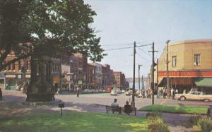 SAINT JOHN, New Brunswick, Canada, King Street, Classic Cars, Woolworths, 40-60s