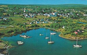 Canada Aerial View of Braddeck Cabot Trail Cape Breton Nova Scotia