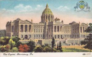 The Capitol, Harrisburg, Pennsylvania, 1900-1910s