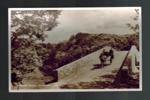 Mint Picture Postcard Ireland County Kerry Killarney Brickeen Bridge Donkey Cart