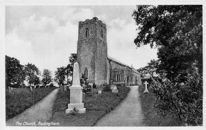 Badingham, The Church, memorial monument