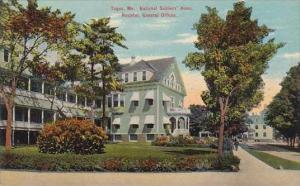 Maine Togus National Soldiers Home Hospital General Office