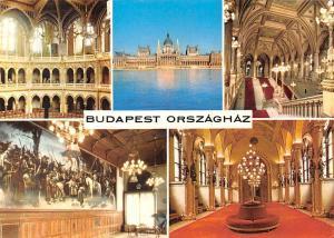 Hungary Budapest Orszaghaz Parlament Interior