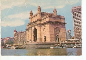 Postal 036749 : Gateway of India & TajMahal Hotel Bombay