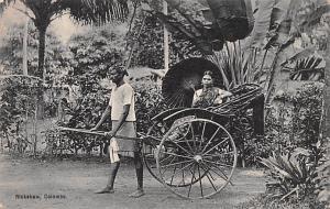 Ceylon, Ceylan Rickshaw  Rickshaw