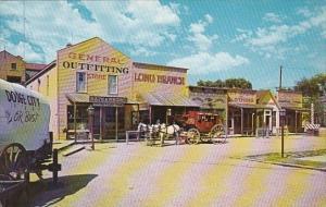 Kansas Dodge City Boot Hill Front Street Replica