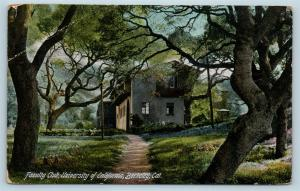 Postcard CA Berkeley Faculty Club University of California 1912 Q13