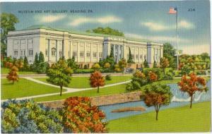 Linen of Museum & Art Gallery Reading Pennsylvania PA